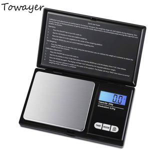 Jewelry Mini Stainless Steel Electronic Scale Digital Pocket Scale Gold Gram Balance Weight Scale Portable Pocket Scale
