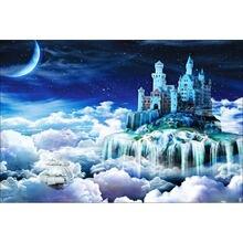 5d diy домашние украшения аэрозольная краска фантазийный замок