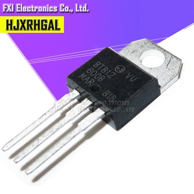 100PCS BTA12 600B BTA12 600 TO 220 TO220 BTA12