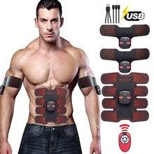 цена на Abs Abdominal Stimulator Estimulador Muscular Muscle Stimulator Abdomen EMS Trainer Home Gym Machine Workout Fitness Equipment