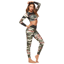 CINESSD High Waist Leggings Camouflage Print Yoga Pants Lift Buttock Quick Dry Sport Fitness Women