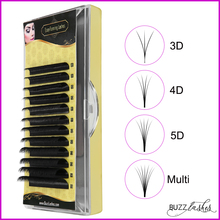 fast shipping Easy Fanning Eyelash Extensions Bloom Mega Volume Eyelashes Auto fans Camellia Individual Lash Extension Supplier