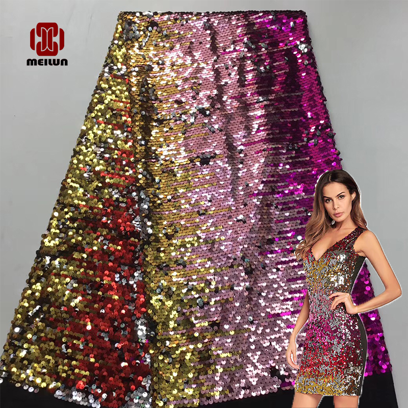 Vestidos Verano Reversible Luxury Latest Sequin Beads Tecnologia Top Grade Wedding Gown Dress Quality Lace Fabric Off Embroidery