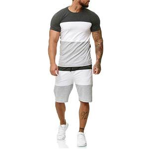 Tracksuit-Set Outfit Shorts Hip-Hop-Tshirt Mens-Sets Two-Pieces Summer Casual Leisure