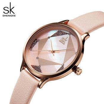 Relojes de pulsera para mujer vestido Casual blanco relojes Montre mujer cuero Rosa reloj japonés cuarzo mujer regalo