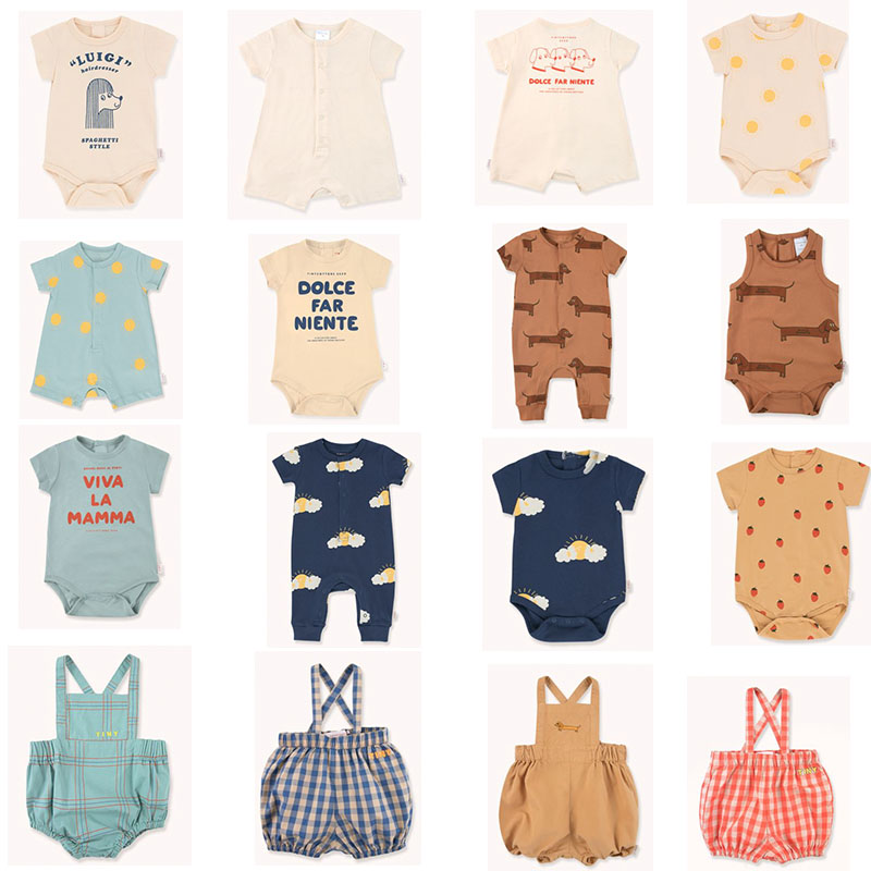 Wow Lovely ! 2020 New Arrivals Baby Brand Cute Romper For Summer Infant Short Sleeve Cotton Playsuit New Born Baby Unisex Onesie