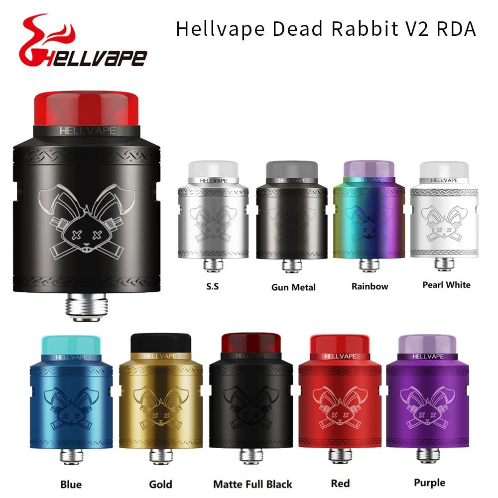 Hellvape Dead Rabbit V2 BF RDA Tank 24mm Diameter Vape Tank With BF Squonk 510 Pin Box Mod Atomizer VS Dead Rabbit / Zeus X