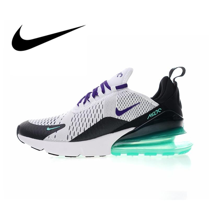 Original Authentic Nike Air Max 270 Womens Running Shoes Sport Outdoor Breathable Sneakers Athletic Designer Footwear AH6789-103