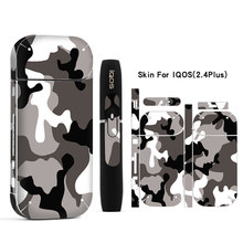 Galaxy Sticker Printing Skin For IQOS Sticker Printing Skin For IQOS Sticker 2.4 Plus 2.4p E-Cigarette Cover Case(China)