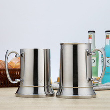 304 stainless steel double layer beer mug bar hotel supplies cocktail glass flame cup