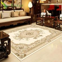 Hot Sale Washable Large Size 2000x3000mm Classical Soft Carpet Home Living Room Customizable Polyester For Bedroom Parlor
