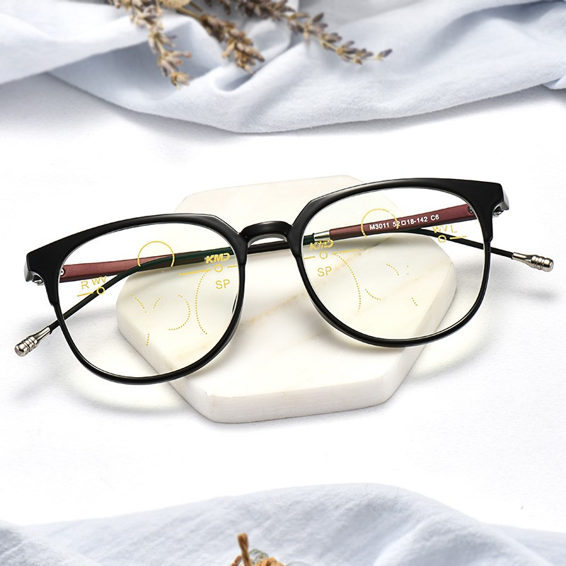 Ti CARING fashion color change intelligent automatic HD zoom genuine ultra light reading glasses