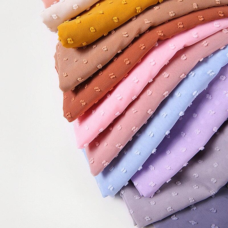 Купить популярный шифоновый хиджаб с шариками шарф для мусульманских