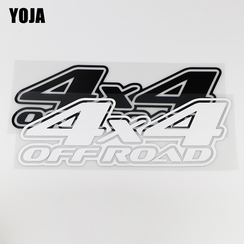 YOJA 24.8X8.6CM <font><b>OFF</b></font> <font><b>ROAD</b></font> <font><b>4X4</b></font> Personality Decoration Car <font><b>Sticker</b></font> Vinyl Decals ZT4-0019 image