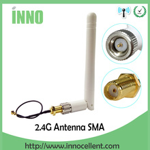 цена на 2.4GHz antenna 3dBi RP-SMA Male Wifi Antenna + IPX to RP-SMA Jack Male Pin Extension Cord Pigtail Cable