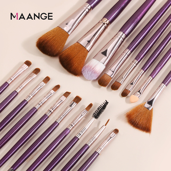 MAANGE 6/15/18/20Pcs Makeup Brushes Tool Set Cosmetic Powder Eye Shadow Foundation Blush Blending Beauty Make Up Brush Maquiagem 3