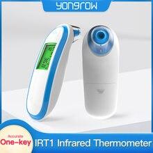 Yongrow casa médica termômetro infravermelho bebê adulto médico orelha termômetro digital termômetro febre do bebê