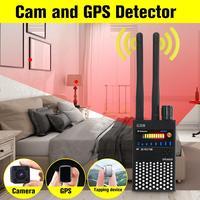 G318 Black Multi function GPS Detector GSM Audio Bug Finder RF Tracker RF Detector Anti eavesdropping Anti Spy