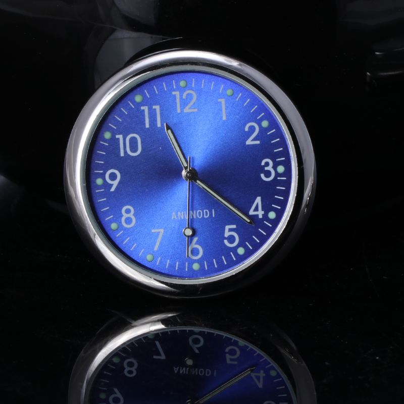 Universal Car Clock Stick-On Electronic Watch Dashboard Noctilucent Decoration For SUV Cars  19QD