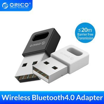 ORICO USB Bluetooth 4 0 Dongle Adapter do komputer stancjonarny bezprzewodowa mysz Joystick muzyka Bluetooth odbiornik Audio nadajnik tanie i dobre opinie BTA-409 Bluetooth v4 0 Windows XP Vista 7 8 10 Free-tool with Hook Mini