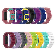 Reemplazo de pulsera de silicona clásica para Fitbit ACE 2 Kids watch Band para inspire/inspire HR Watch band(China)