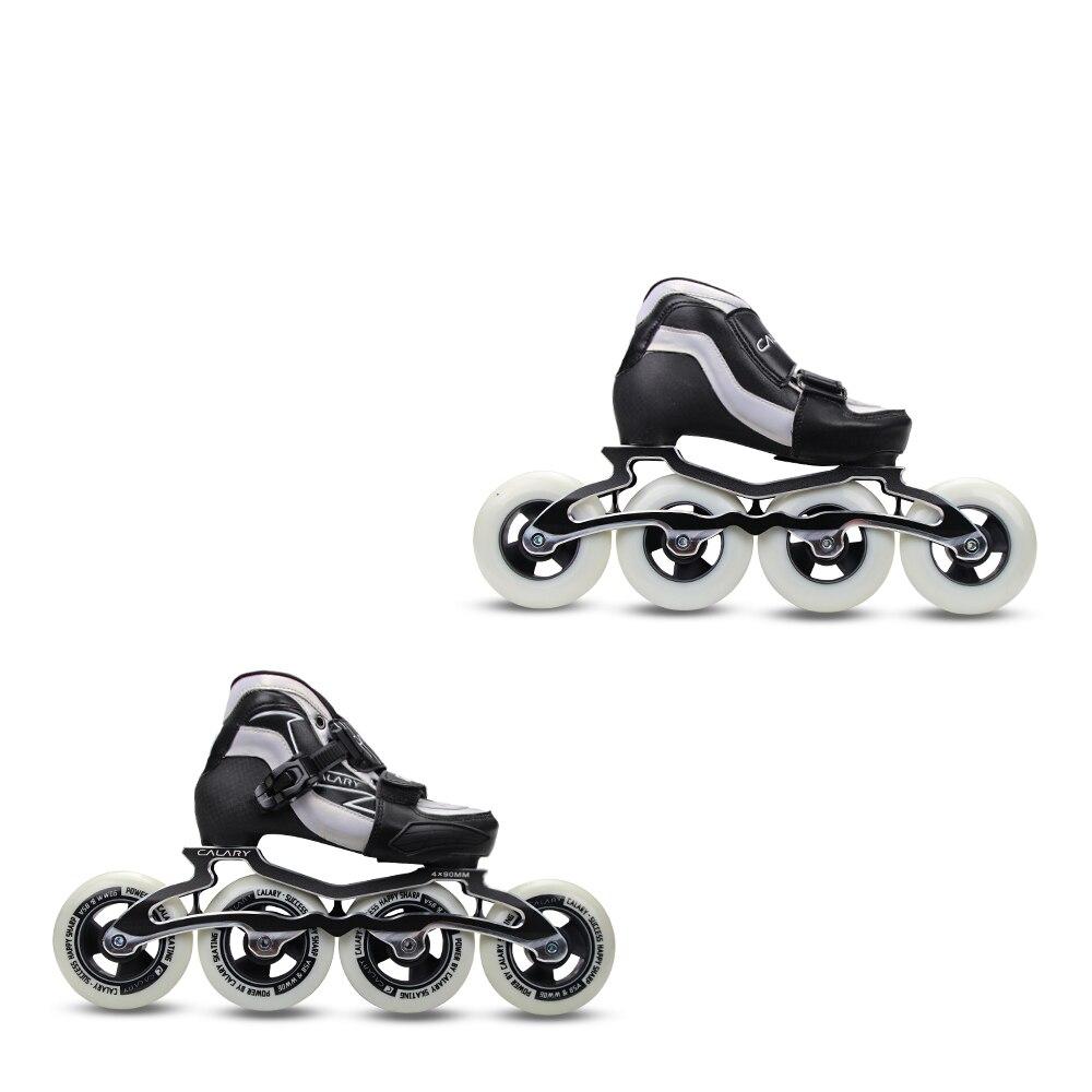 YF YOUFU skate shoes skates skating Inline 4W 90/Blue Children's Speed roller