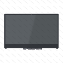 NV156QUM-N51 B156HAN02.0 N156HCE-EN1 LED LCD DISPLAY TOUCH SCREEN GLASS PANEL WITH BEZEL FOR YOGA 720-15IKB n140hce en1 rev c2 fhd led lcd screen ips display panel replacement for lenovo thinkpad t480