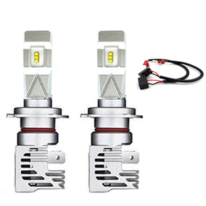 Image 4 - Yaxial Light Mini H4 Led Hi/Lo H7 Led faro H11 H1 lampadina auto 9005 hb3 9006 hb4 H8 H9 aggiornamento lampada 55w 12000lm fendinebbia 6500K
