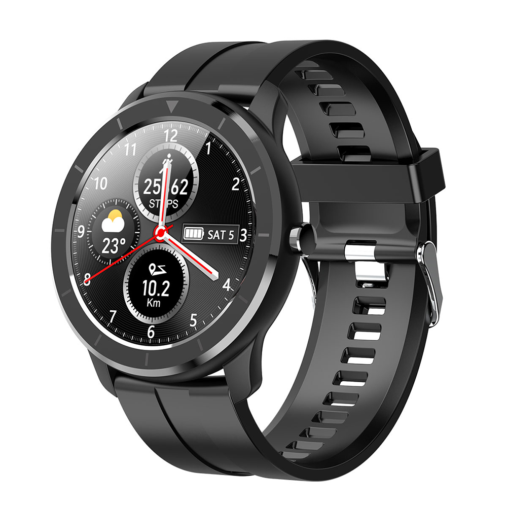 LEMFO Full Touch Screen Smart Watch AI Watch Face Heart Rate Monitor IP68 Waterproof Smartwatch Men For Huawei Xiaomi GTR