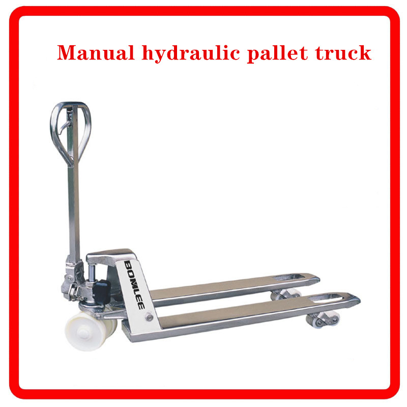 Hot And Cold Galvanized Manual Hydraulic Pallet Truck