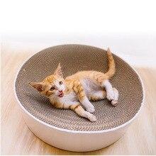 Rascador de gato tipo taza, rascador de uñas, juguete para cama, rascador de gatos, papel corrugado, almohadilla para gatos, suministros para mascotas