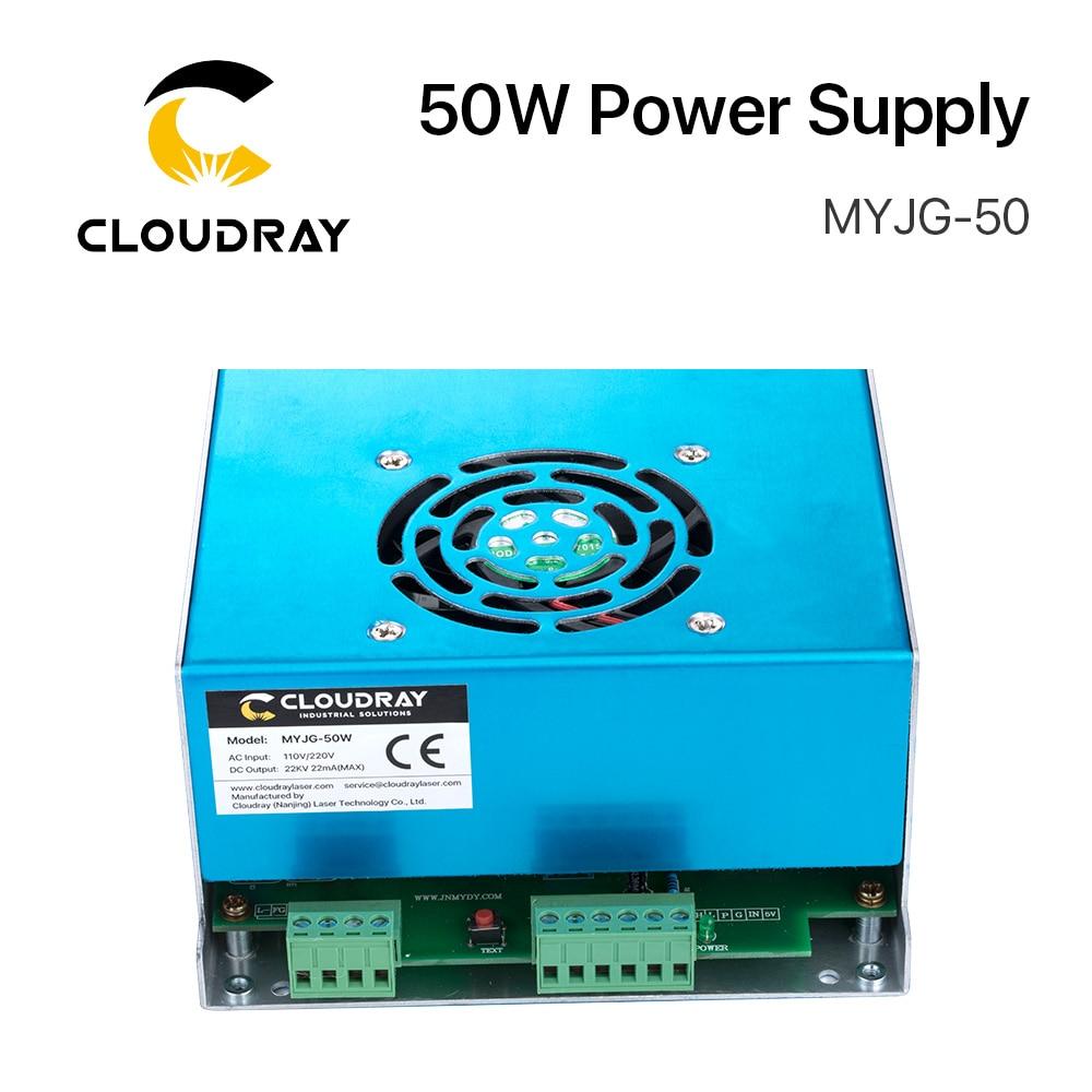Zasilacz laserowy Cloudray 50W CO2 do grawerki laserowej CO2 - Części maszyn do obróbki drewna - Zdjęcie 4