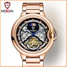 Wristwatch Mechanical-Watch Skeleton Automatic Tourbillon Waterproof Relogio Masculino