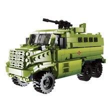 Новейшая серия xingbao 06801 военное оружие России 481 шт грузовик