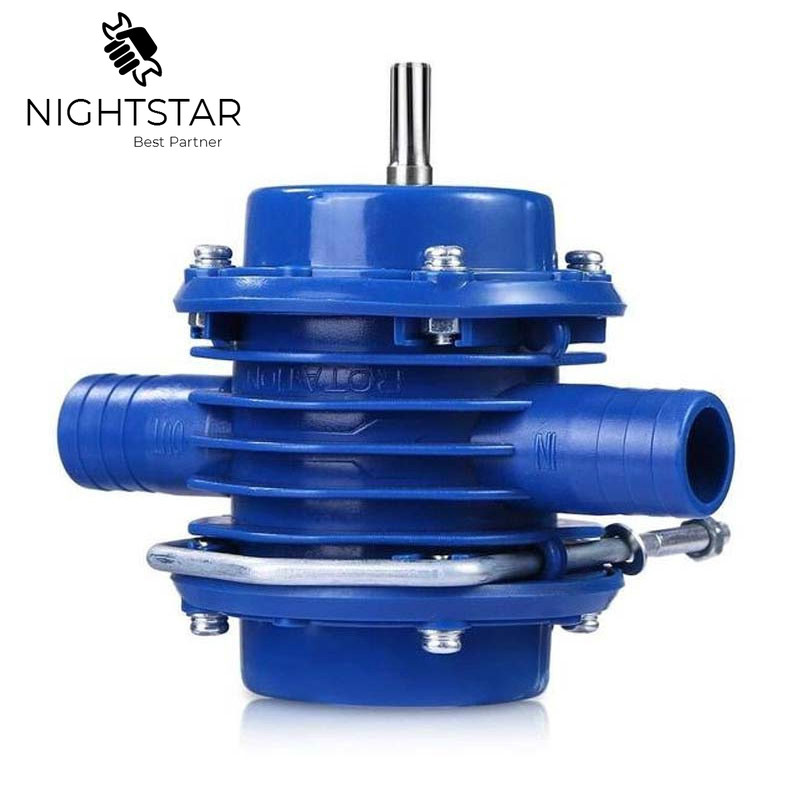 Blue Electric Drill Water Pump Self-Priming DC Pumping Self-Priming Centrifugal Pump Household Electric Drill Accessories