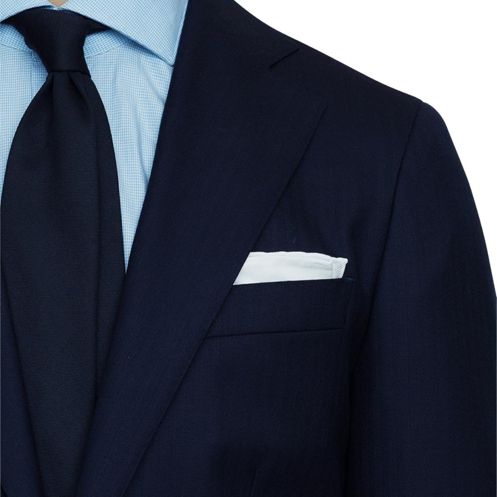 Navy Blue Herringbone Men Suit Men Custom Made Dark Blue Fashion Patterned Costume,Tailored Slim Fit Stylish Business Suit 2019