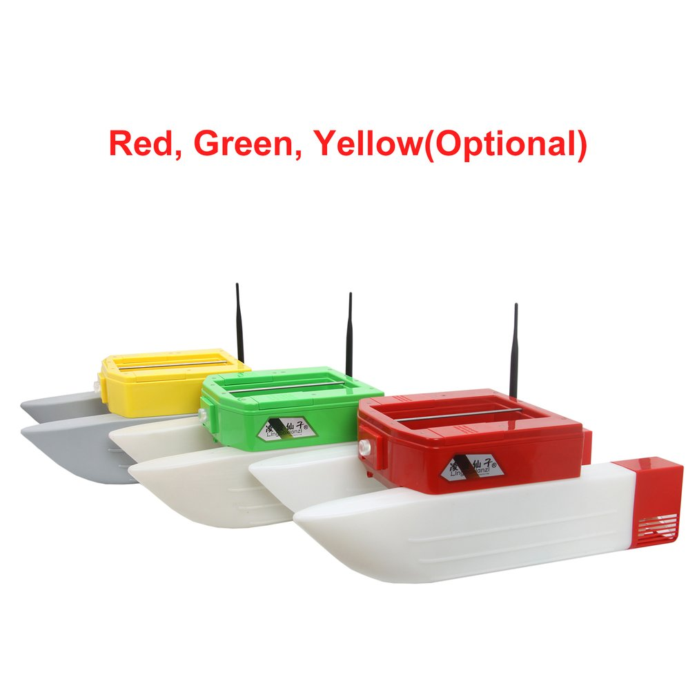 T168 RC Boat Intelligent Wireless Electric Fishing Bait Remote Control Boat Dual Warehouse Boat Toy Gifts For Kids image