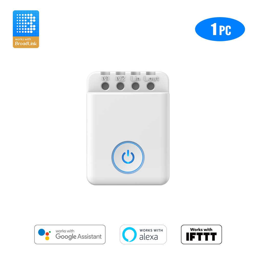 Bestcon MCB1 DIY Kontrol Wi-fi Box Smart Saklar Lampu Nirkabel Bekerja dengan Google Home dan Alexa