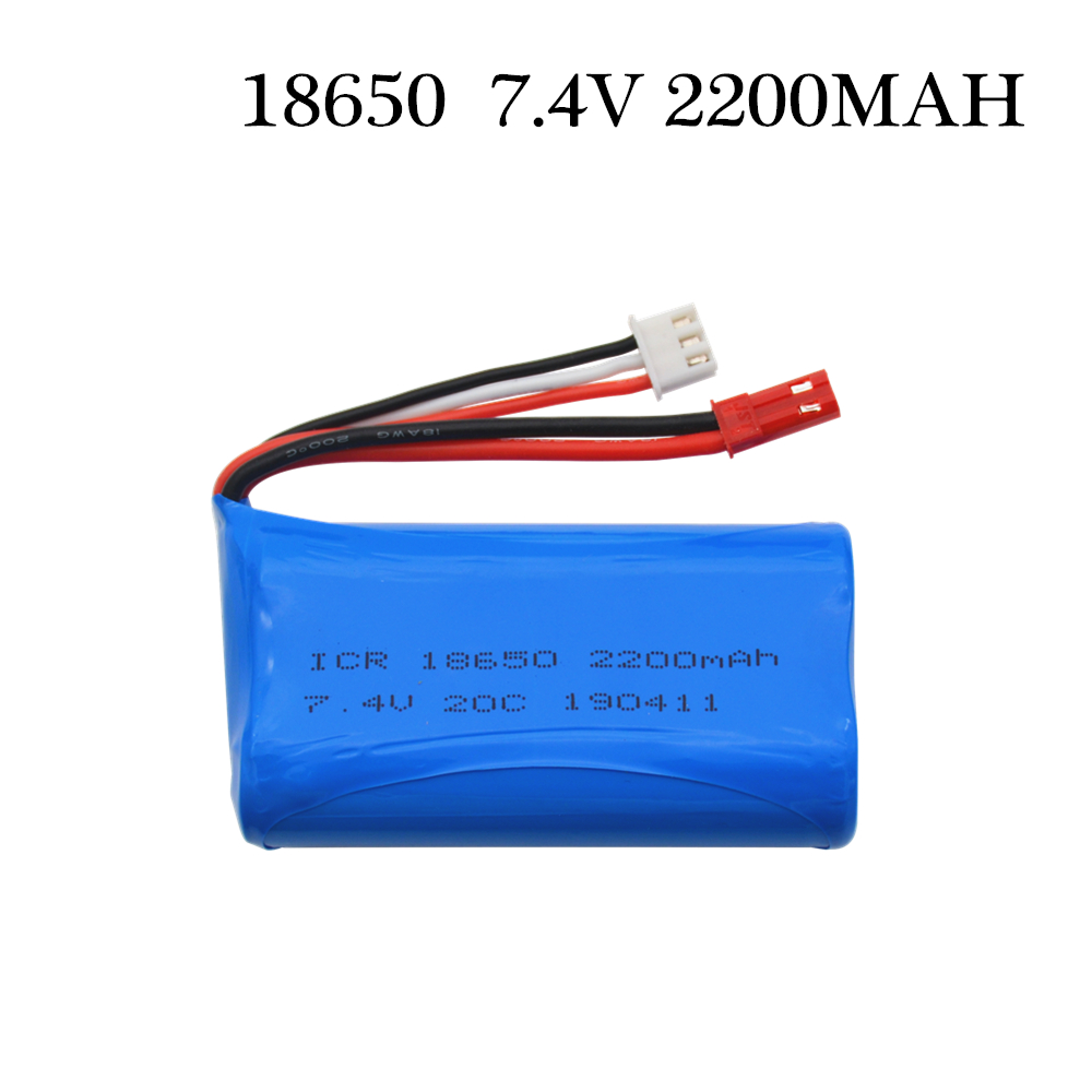 <font><b>7.4V</b></font> <font><b>2200mAH</b></font> Wholesale Li-po Lipo Batery 2S remote control helicopter 7.4 V 2200 mAH Lipo <font><b>battery</b></font> 20C 18650 Toy <font><b>Battery</b></font> image