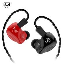 KZ ZS4 Earphones 1DD+1BA Hybrid technology HIFI Stereo Headset In Ear Monitor Sport Headphone Noise Cancelling Gaming Earbuds