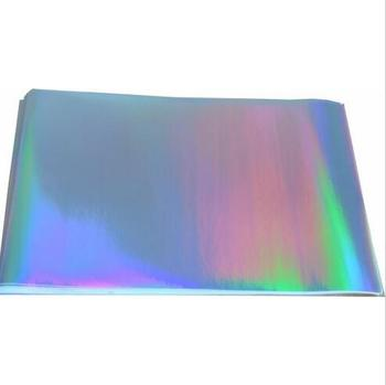 SIze A4 Single Side Glossy Holographic Rainbow Shine Cardstock For Paper Crafting 125gsm Thickness 10/30/50/80pcs You Pick