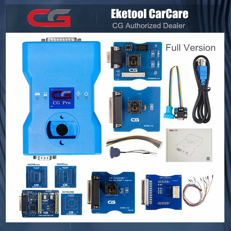 CGDI CG Pro 9S12 For Freescale Programmer 705 711 908 912 For BMW Key Programmer CGPRO 9S12 Next Generation Of CG100 CG-100