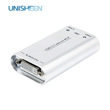 Unisheen UC3200D 60FPS Endoscoop Dvi Hdmi Naar USB3.0 Video Capture Fpga Dongle Streaming 1080P Obs/Vmix/Wirecast/Xsplit