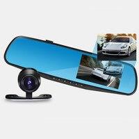 Видеорегистратор 1080P HD Автомобильный видеорегистратор зеркало для внедорожников различных автомобилей 170 градусов Автомобильный видеорег...