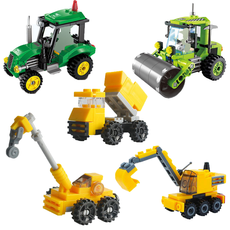 Lego Compatible STEAM ROLLER CONSTRUCTION Vehicle Legoings Building Blocks Toy