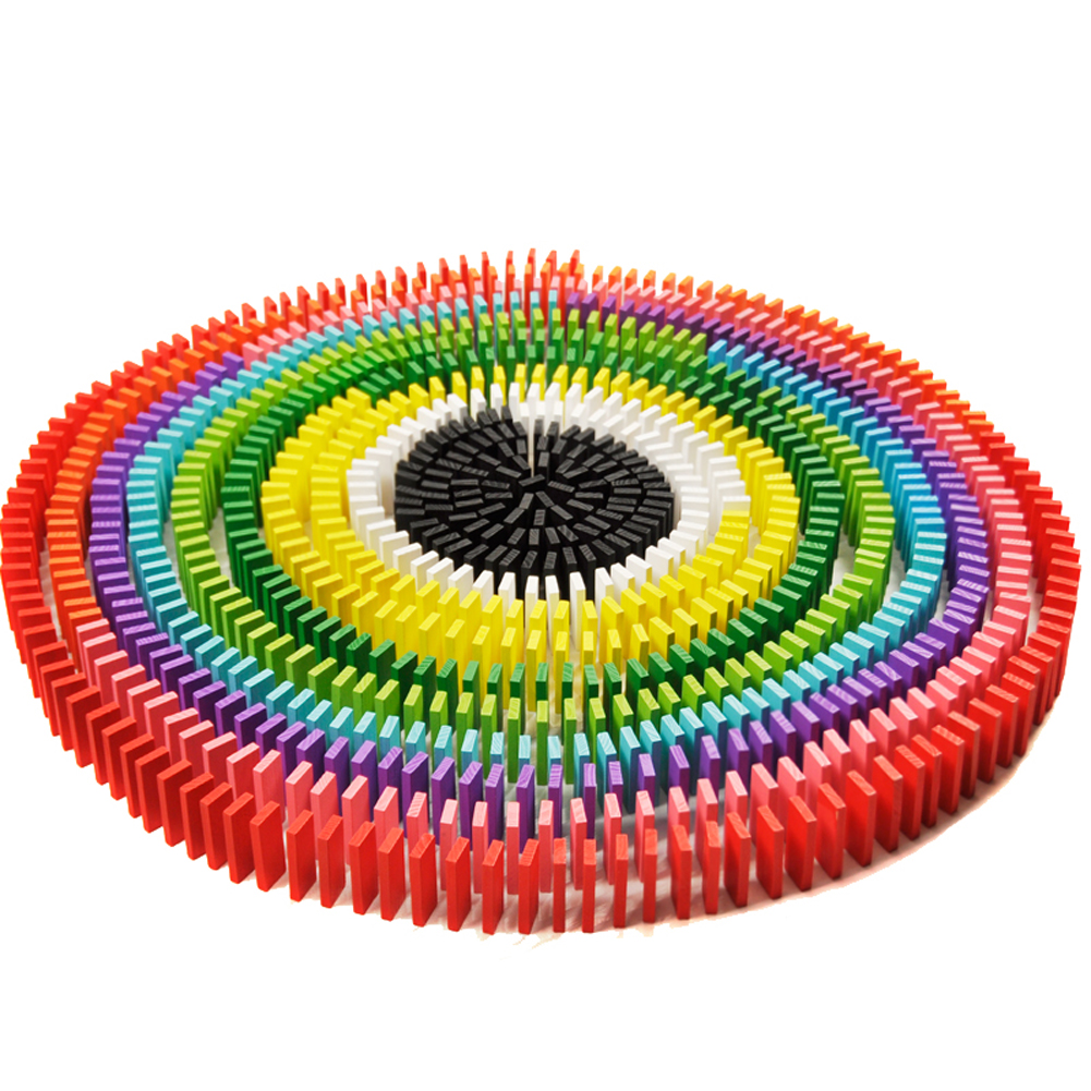 360 шт цветные деревянные игрушки домино Bois, Наборы кубиков домино, обучающие игры домино, детские игрушки