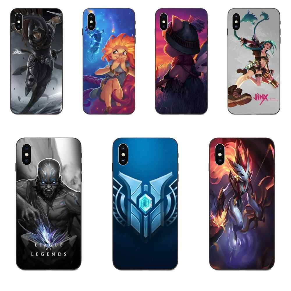 Ontwerp Mobiele Telefoon Case Voor Xiaomi Redmi Note 3 3S 4 4A 4X5 5A 6 6A 7 7A K20 Plus Pro S2 Y2 Y3 League Of Legends Teemo LOL