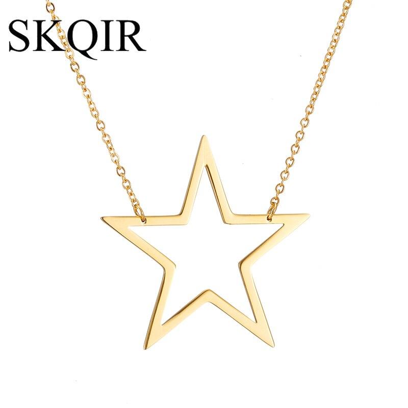 40 золотых + 40 серебряных звезд ожерелье + 1 пара роскошных камней капля