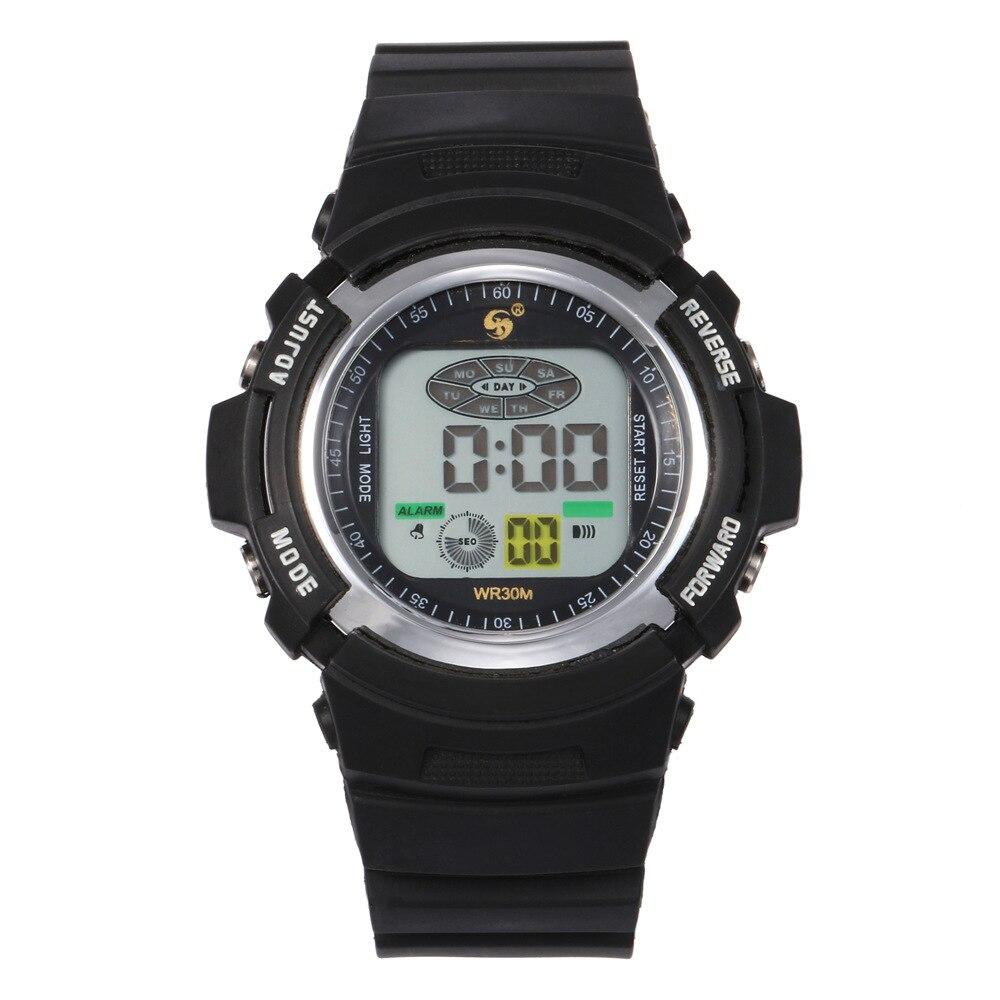 Children's Digital Watch Military Sports Watches Fashion Kids Hour Boy Girl Alarm Clock School Student Date Fashion Birthday Gif
