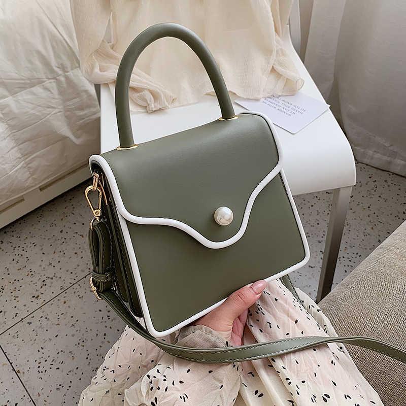 Gran oferta bandolera bolsas para las mujeres 2020 hombro cuadrado pequeño bolsa monederos y bolso de lujo bolsos de las mujeres bolsos de diseñador сумка
